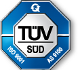 TUV logo AS9100