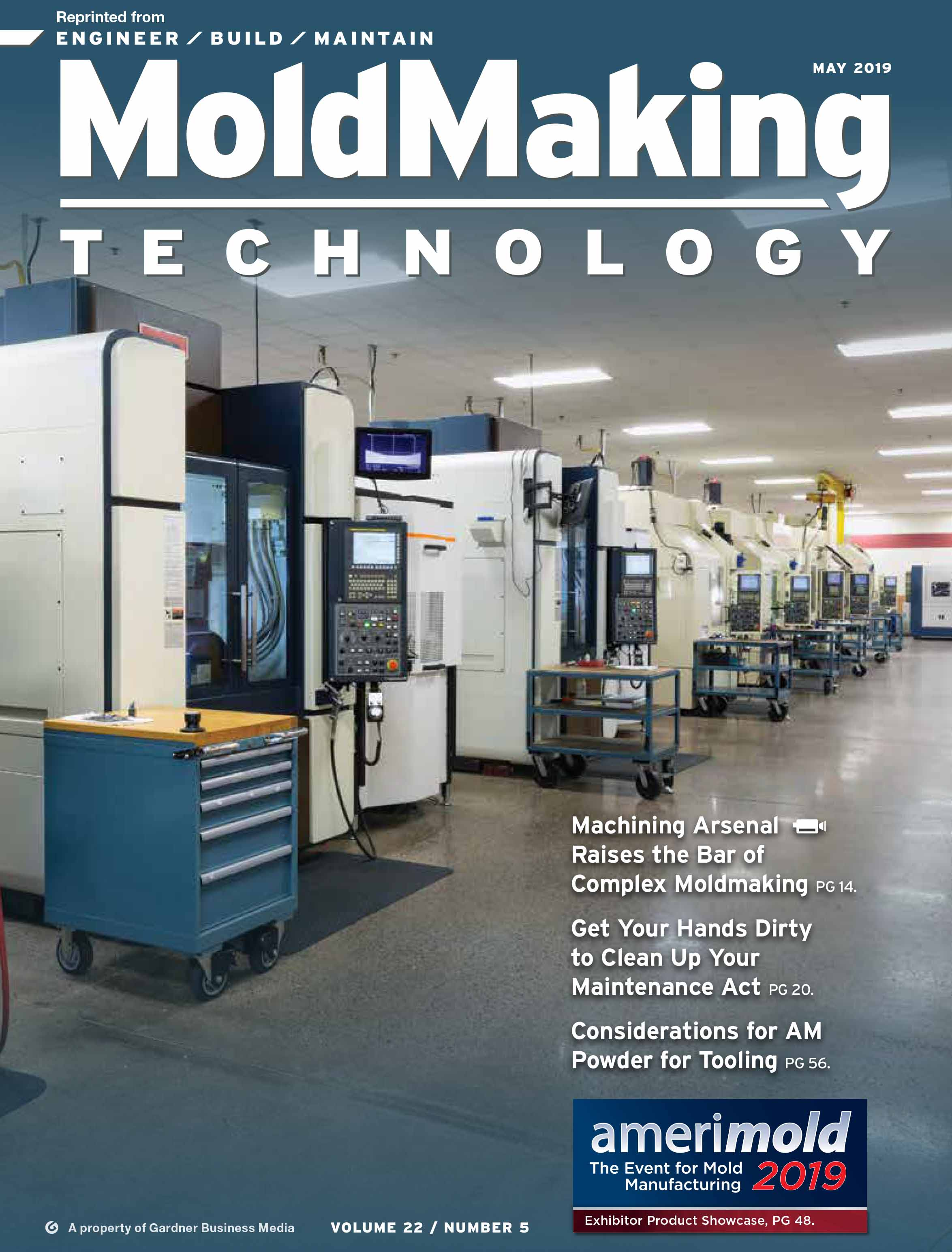 Custom Mold & Design in MoldMaking Technology May 2019